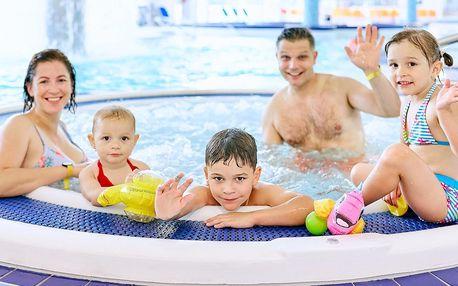 Aquapark v Uh. Hradišti: vstup pro jednoho i rodinu