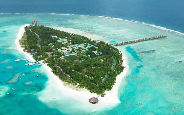 Maledivy - Atol Severní Male letecky na 9-16 dnů, plná penze