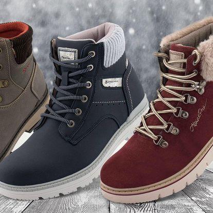 Zimní boty pro celou rodinu zn. Alpine Pro