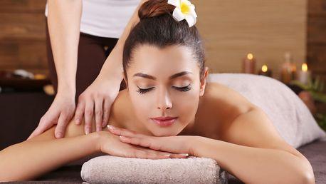 Hodinová masáž, spa procedury i oxygenoterapie
