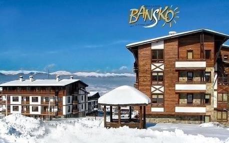 Bulharsko | Green Life Resort Bansko**** | Apartmány se snídaní | Až dvě osoby zdarma | Wellness v ceně | Vlastní doprava