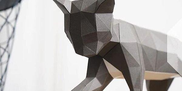3D skládací model - ptáčci3