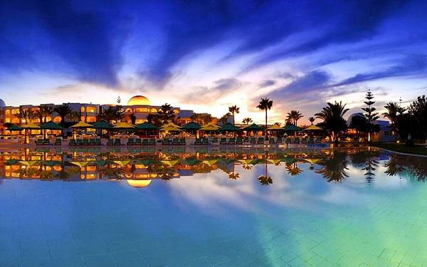 Hotel Djerba Plaza Thalasso & Spa, Djerba, letecky, all inclusive4