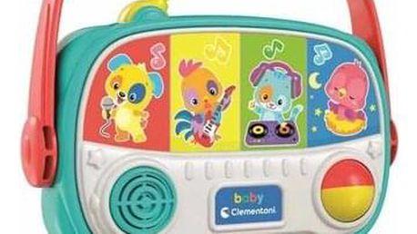Clementoni Moje první rádio se zvukovými efekty, 15 x 20 x 6 cm