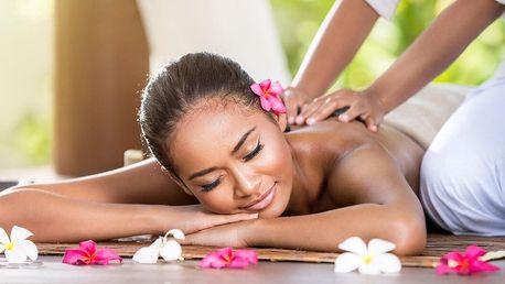 60–90minutová thajská masáž podle vašeho výběru