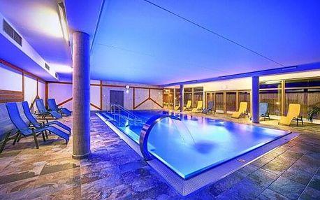 Šumava u Lipna v Hotel Resortu Relax **** s polopenzí a neomezeným wellness (bazén, vířivka, saunový svět)
