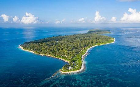 Seychely - mikroostrovy v Seychelách letecky na 10-15 dnů, snídaně v ceně