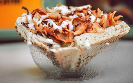 Jídlo s sebou: Chleba speciál, Tortilla Mega i velký talíř