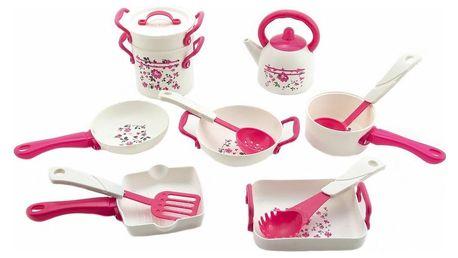 Teddies Sada plastového nádobí, 11 ks