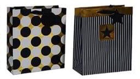 Sada luxusních dárkových tašek 4 ks, 26 x 32 x 10 cm