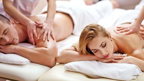 Párová thajská masáž: 30–120 minut dle výběru