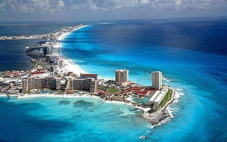 Mexiko - Cancún letecky na 9-16 dnů, all inclusive