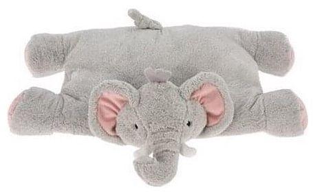 Polštářek Slon, 40 x 25 cm