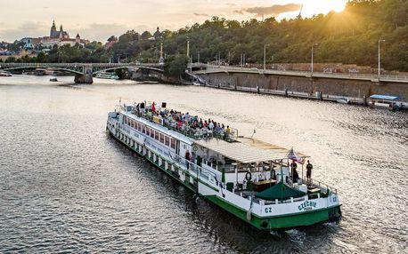 2hodinová plavba po Vltavě s obědem nebo večeří