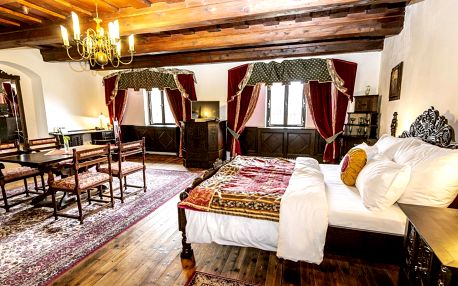 5* hotel v centru Krumlova: snídaně a bazén