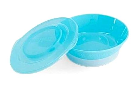 Twistshake Miska 6+ m, modrá