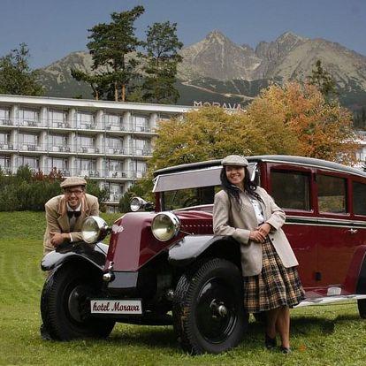Pobytové balíčky s polopenzí na 5 nocí pro příznivce retro stylu, Vysoké Tatry