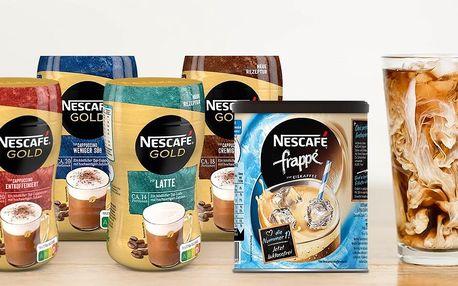 Oblíbené kávy Nescafé Gold a Frappé: 5 druhů