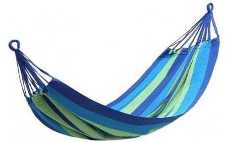 Závěsná houpací síť modrá