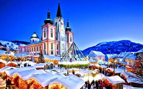 Výlet do Mariazell: vánoční trhy i průvod čertů