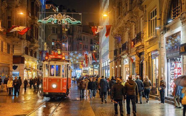 Předvánoční Istanbul, Istanbul, letecky, snídaně v ceně3