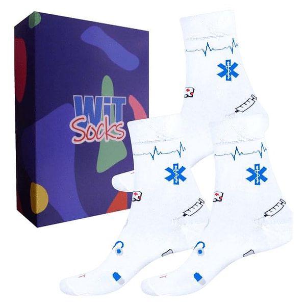 Dárkový set ponožek - Zdravotnictví nízké mix   Velikost: 35-384