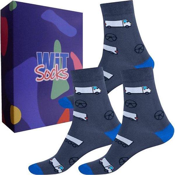 Dárkový set ponožek - Zdravotnictví nízké mix   Velikost: 35-385