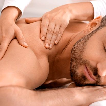 Relaxační balíček pro pány: infrasauna a masáž
