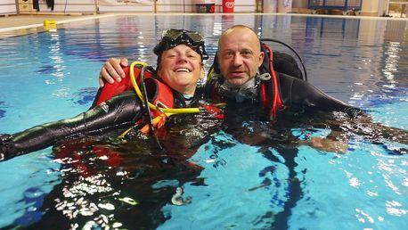 Potápěčský kurz s mezinárodní certifikací pro dva