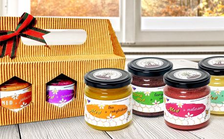Prvotřídní domácí med s jahodami i propolisem