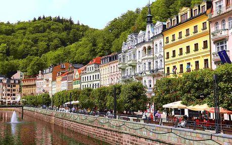 Karlovy Vary pro 2: snídaně či polopenze a relax