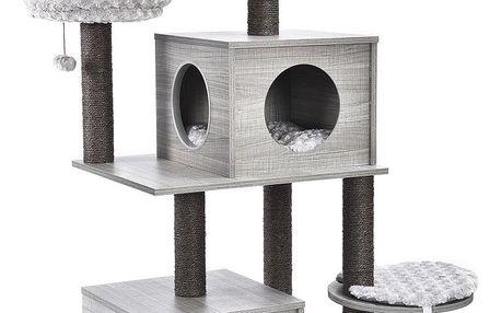ALDOS Škrabadlo pro kočky Fredy 59x48x128,5 cm