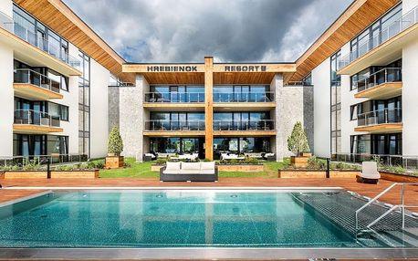 Víkend pre dvoch v hoteli Hrebienok Resort