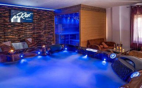 Chomutov v přírodě a nedaleko centra: Hotel Forrest *** s privátním wellness (vířivka a sauna) a polopenzí