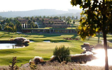Pohodový relaxační pobyt v golfovém hotelu Kaskáda u Brna s bazénem a wellness