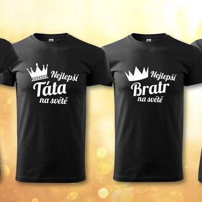 Bavlněná trička pro nejlepší členy rodiny