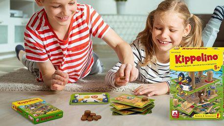 Zábavná karetní hra Kippelino pro děti od 5 let