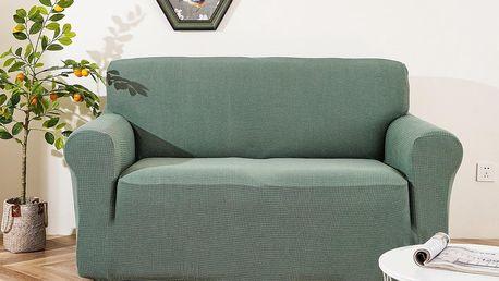 4Home Napínací voděodolný potah na dvojkřeslo Magic clean zelená, 145 - 185 cm