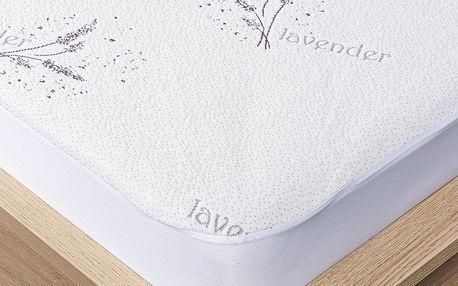 4Home Lavender Chránič matrace s lemem, 90 x 200 cm