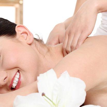 Otevřený voucher na masáže v hodnotě 500 či 1 000 Kč