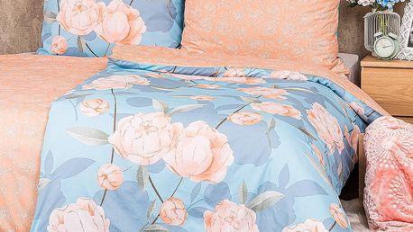 4Home Bavlněné povlečení Peony Dream , 140 x 220 cm, 70 x 90 cm