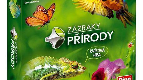 Dino Společenská naučná hra Zázraky přírody, 24 x 24 x 5 cm