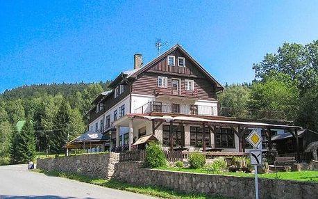 Orlické hory: Dovolená ideální pro turisty v Hotelu Orlice *** se snídaní nebo polopenzí