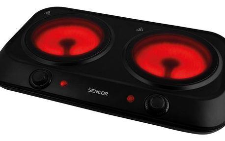 Sencor SCP 2263BK sklokeramický vařič