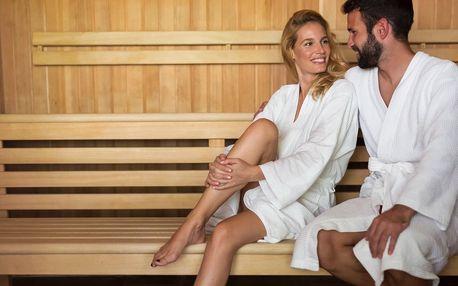 Privátní finská sauna pro dva či rodinu s dětmi