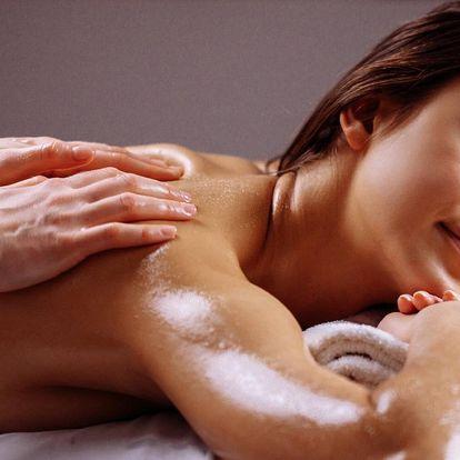 Celotělová masáž horkým olejem pro 1 i 2 os.