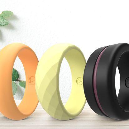 Silikonové prsteny v dárkové krabičce: 25 variant
