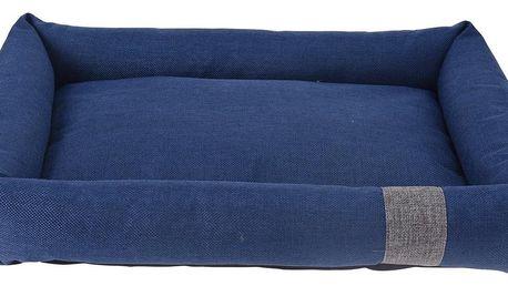 Pelíšek pro psa Pet bed modrá, 55 x 41 x 10 cm