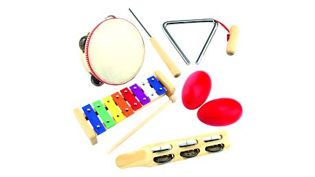 Bino Set hudebních nástrojů, 5 ks