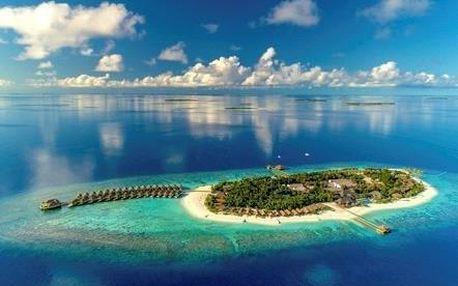 Maledivy letecky na 9-16 dnů, all inclusive